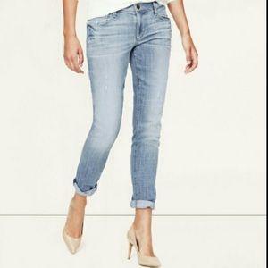 Loft medium faded wash Relaxed Skinny jeans 2383